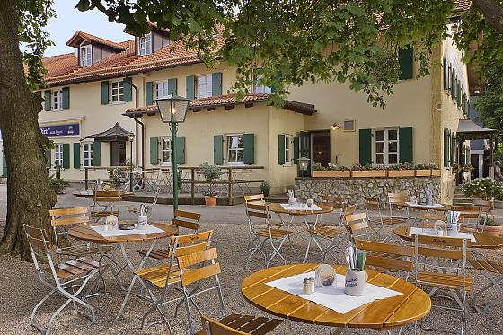 Restaurant Cafe Biergarten Seefeld Am Pilsensee
